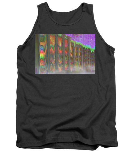 Tank Top featuring the digital art Forests Of The Night by Wendy J St Christopher