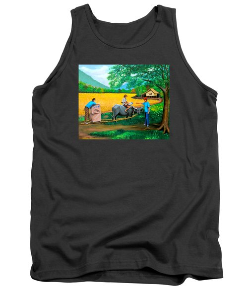 Forex 1 Tank Top by Cyril Maza