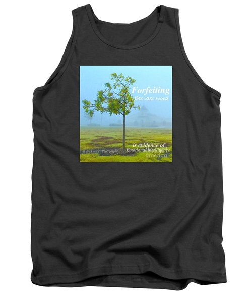 Forfeiting Last Word - No.2015 Tank Top