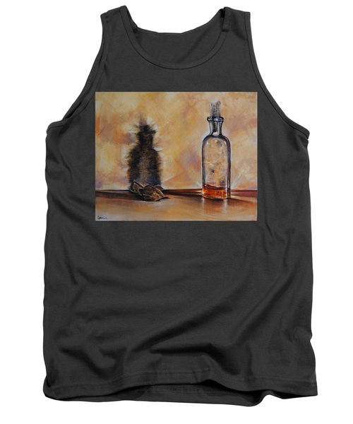 Forgetting Is So Long Tank Top by Jean Cormier