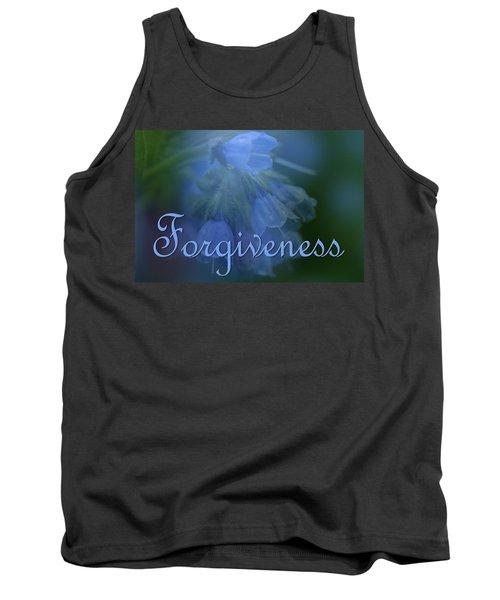Forgiveness Blue Bells Tank Top