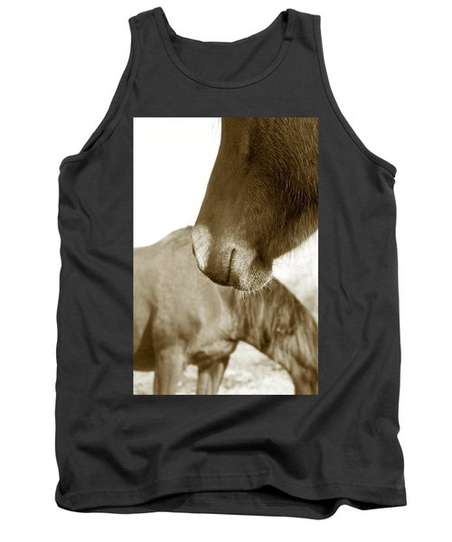 Form Of A Horse Tank Top by Toni Hopper