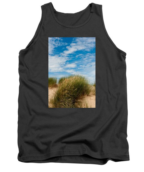 Formby Sand Dunes And Sky Tank Top