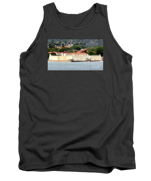 Fort At Sao Tome W. Africa Tank Top by John Potts