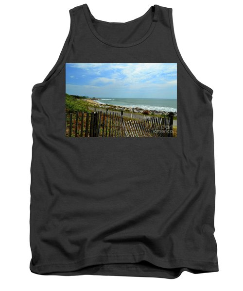 Fort Fisher Beach Tank Top