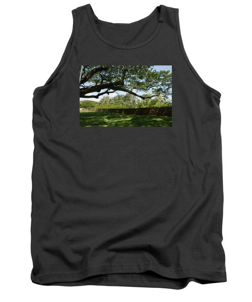 Tank Top featuring the photograph Fort Galle by Christian Zesewitz