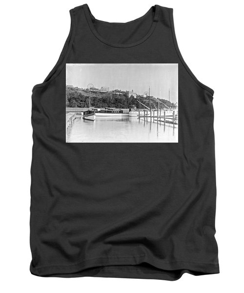 Tank Top featuring the photograph Fort George Amusement Park by Cole Thompson