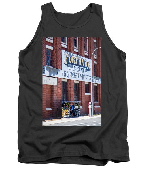 Tank Top featuring the photograph Fort Knox by Serene Maisey