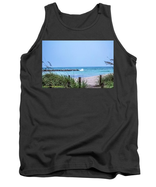 Fort Pierce Inlet Tank Top by Nance Larson