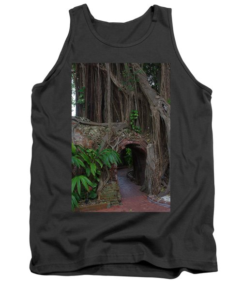 Tank Top featuring the photograph Fort West Martello by Greg Graham