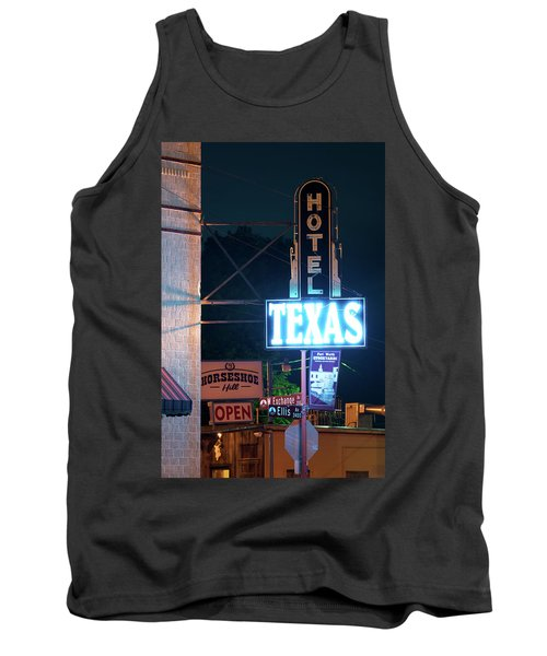 Fort Worth Hotel Texas 6616 Tank Top