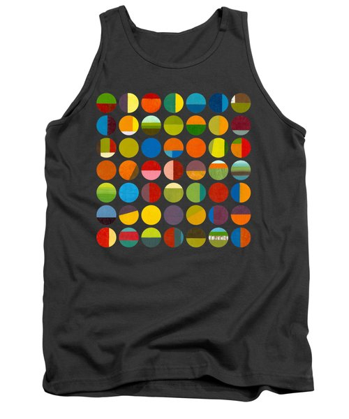 Forty Nine Circles Tank Top by Michelle Calkins