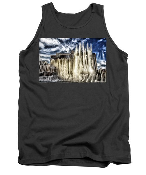 Tank Top featuring the photograph Fountain Of Love by Michael Rogers
