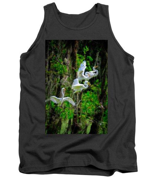 Four Egrets Tank Top