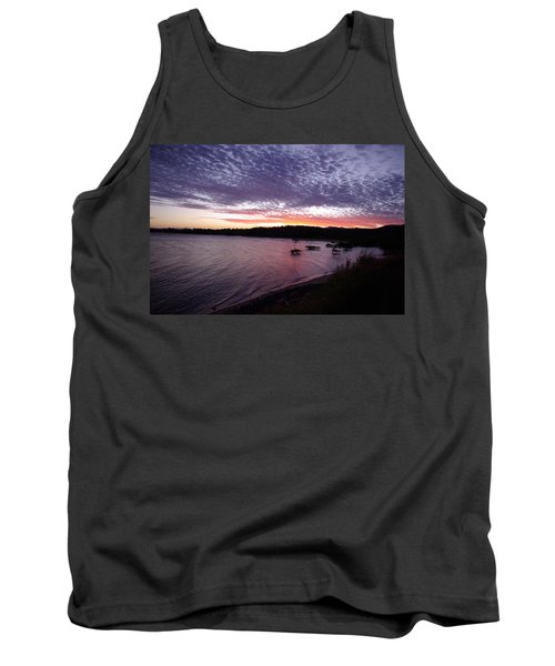Four Elements Sunset Sequence 6 Coconuts Qld  Tank Top by Kerryn Madsen-Pietsch