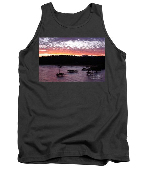 Four Elements Sunset Sequence 8 Coconuts Qld  Tank Top by Kerryn Madsen - Pietsch