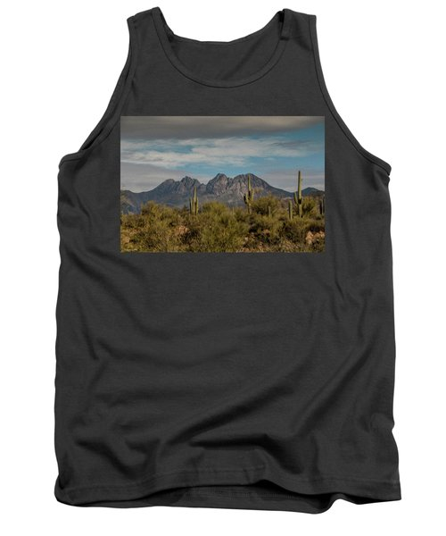 Four Peaks Painterly Tank Top