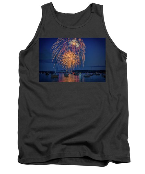 Tank Top featuring the photograph Fourth Of July In Boothbay Harbor by Rick Berk