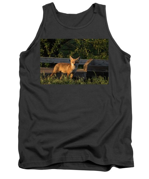 Fox 2 Tank Top by Jay Stockhaus