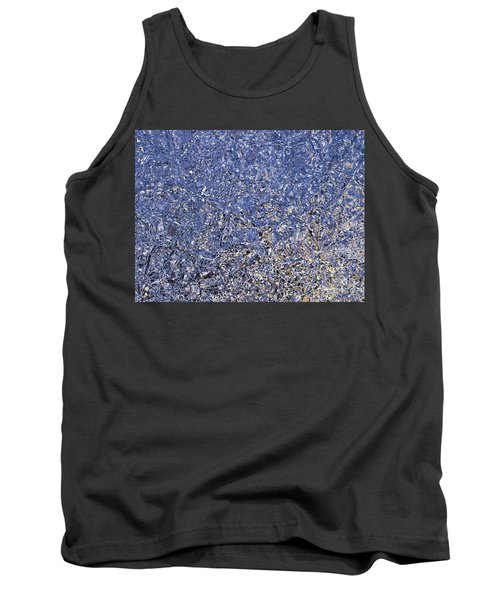 Fractions Of Sunset Tank Top by Nina Ficur Feenan