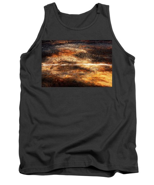 Tank Top featuring the photograph Fractured by Ryan Manuel