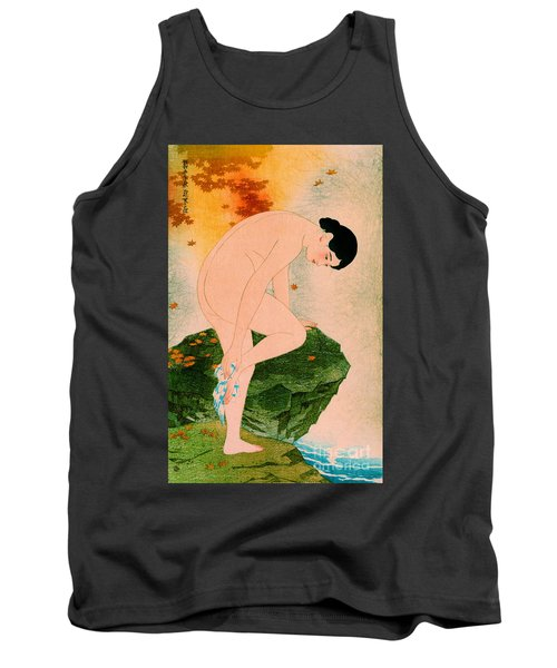 Fragrant Bath 1930 Tank Top by Padre Art