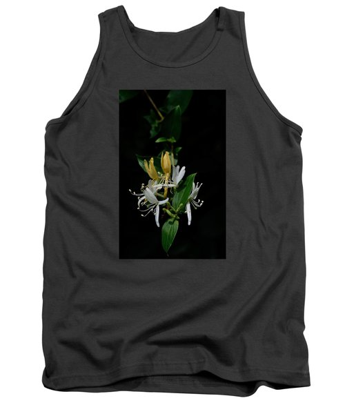 Tank Top featuring the photograph Fragrant Honeysuckle by Karen Harrison