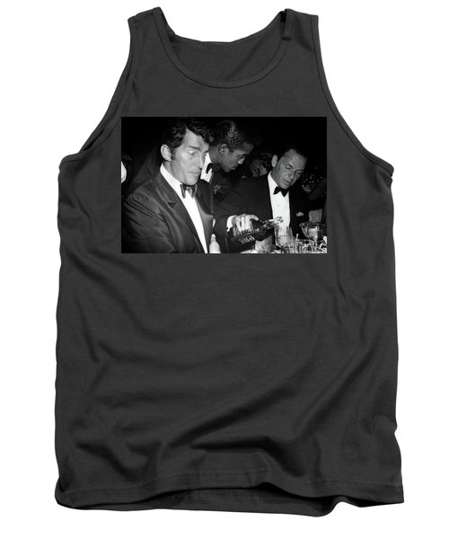 Frank Sinatra Drank American Whiskey His Way Tank Top