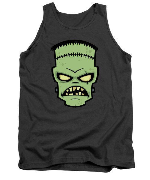 Frankenstein Monster Tank Top