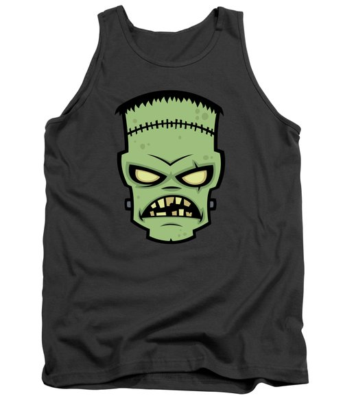 Frankenstein Monster Tank Top