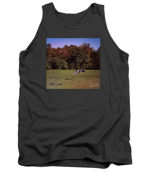 Free Flighted Macaw Tank Top by Melissa Messick