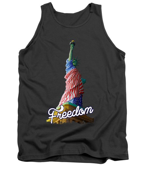 Freedom Tank Top by Anthony Mwangi