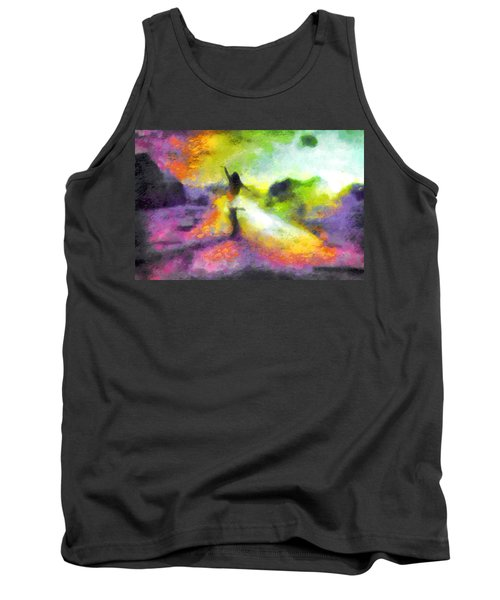 Freedom In The Rainbow Tank Top