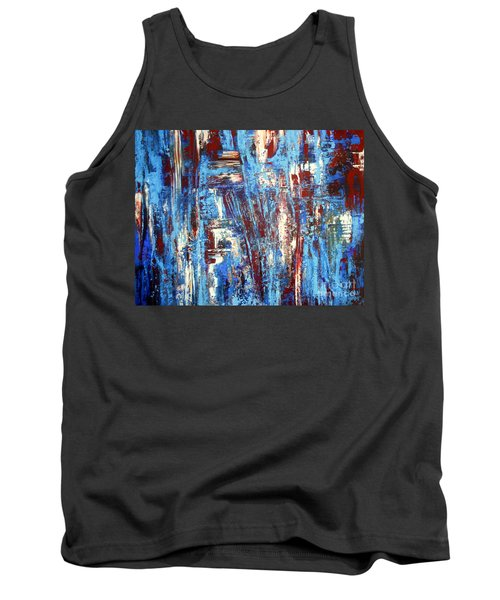 Freedom Of Expression Tank Top by Valerie Travers