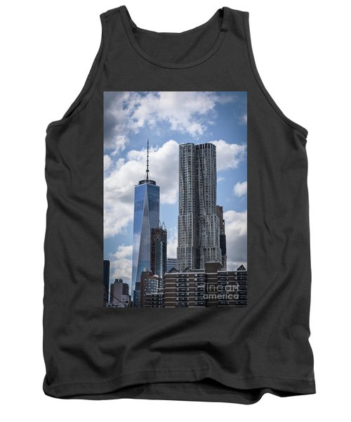 Tank Top featuring the photograph Freedom Tower by Judy Wolinsky