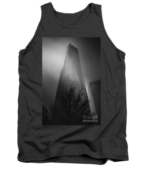 Tank Top featuring the photograph Freedom Tower by Paul Cammarata