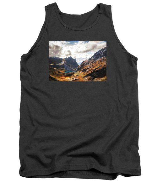 French Alps Tank Top