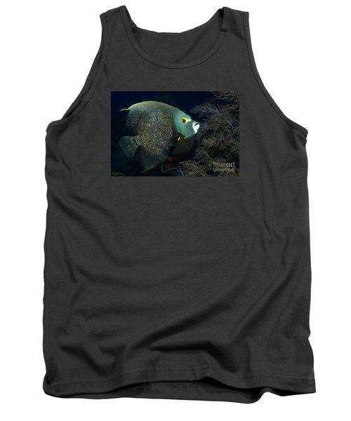 Tank Top featuring the photograph French Angel by Aaron Whittemore