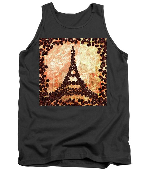 French Roast Eiffel Tower Tank Top