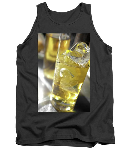 Tank Top featuring the photograph Fresh Drink With Lemon by Carlos Caetano