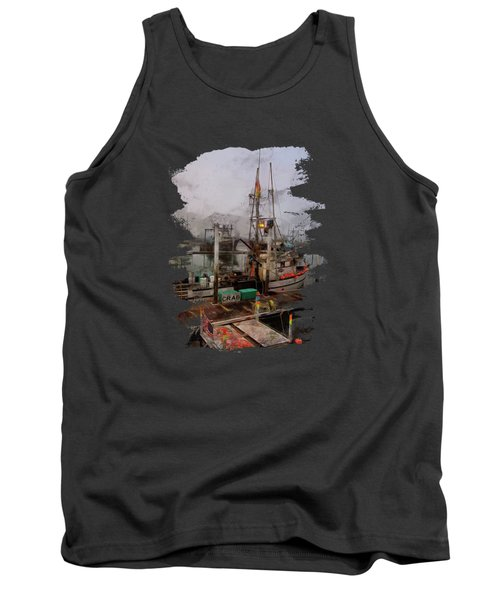 Fresh Live Crab Tank Top