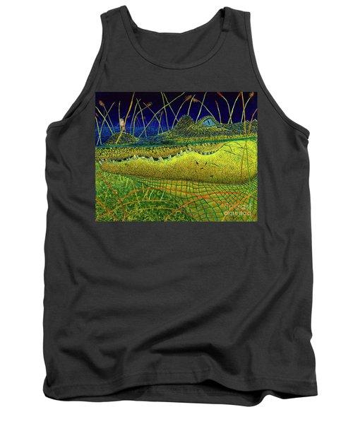 Swamp Gathering Tank Top by David Joyner