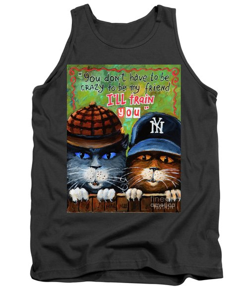 Tank Top featuring the painting Friends by Igor Postash