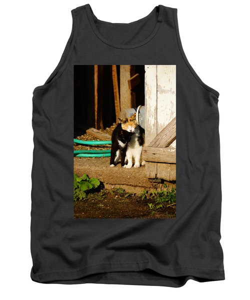 Tank Top featuring the photograph Friends by Steven Clipperton