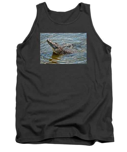Tank Top featuring the photograph Frisky In Florida by Christopher Holmes