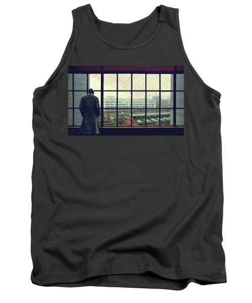 Frits Is Overlooking His Philips Plants In Eindhoven Tank Top by Nop Briex