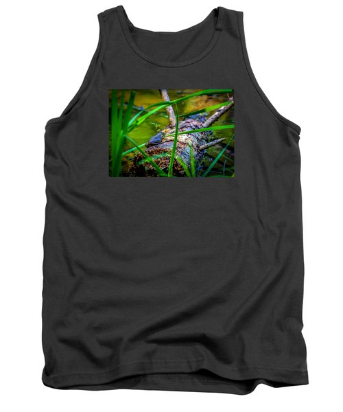 Frog On A Log 1 Tank Top