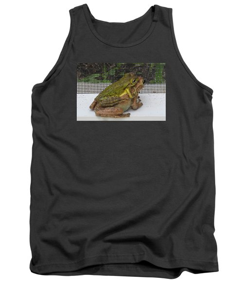 Tank Top featuring the photograph Froggy Love by Melinda Saminski