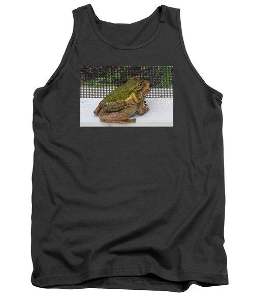 Froggy Love Tank Top by Melinda Saminski