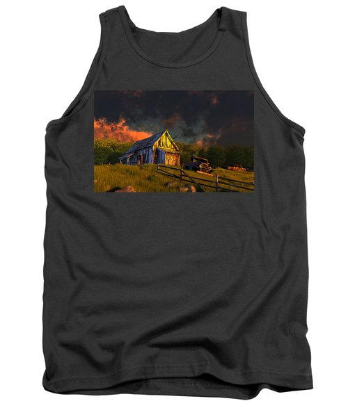 From A Distant Time Tank Top